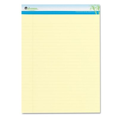Universal® Sugarcane Sugarcane Based Writing Pads, 2 50-Sheet Pads/Pack