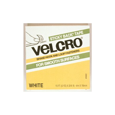 VELCRO USA Inc Velcro Tape 3/4 X 5 Yds White