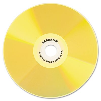 Verbatim Corporation Cd-R Archival Grade Disc, 700Mb, 52X, 5/Pack