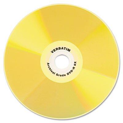 Verbatim Corporation Cd-R Archival Grade Disc, 700Mb, 52X, 5/Pack
