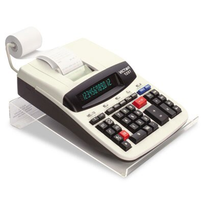 Victor Technology LS125 Large Angled Acrylic Calculator Stand