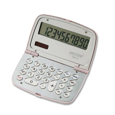 Victor Technology Limited Edition Compact Calculator, 10-Digit Lcd