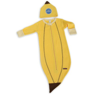 Sozo Banana Bunting and Cap Set in Yellow