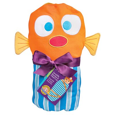Sozo Fish Swaddle Blanket and Cap Set