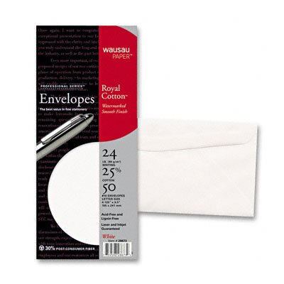 Wausau Papers Southworth 10 Business Envelope, 24 Lbs., 250/Box