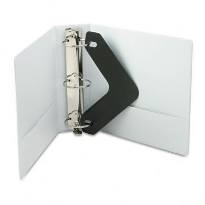 Wilson Jones Vinyl Round Ring Locking View Binder, 3in Capacity