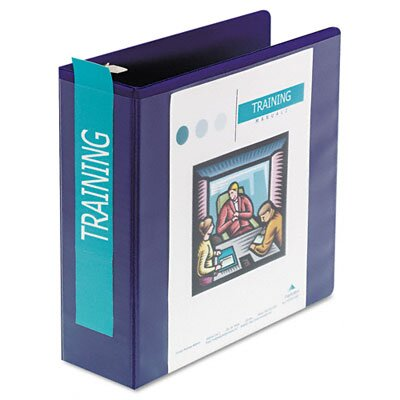 Wilson Jones D-Ring Vinyl View Binder, 3in Capacity
