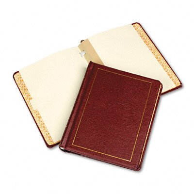 Wilson Jones Three-Post Binder For Corporation Minute Sheets, 11 X 8-1/2