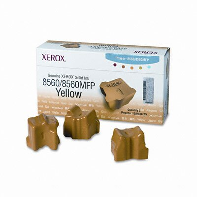 Xerox® Solid Ink Stick, 3400 Page-Yield, 3/Box