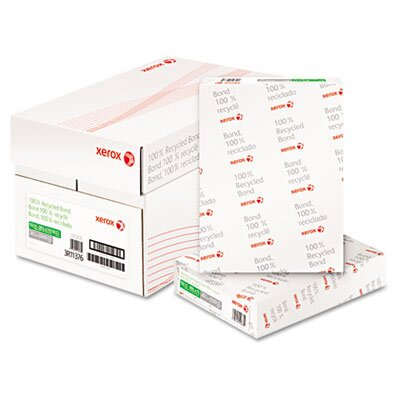 Xerox® Bond Paper, 92 Brightness, 20Lb, 8-1/2 X 11, 5000/Carton