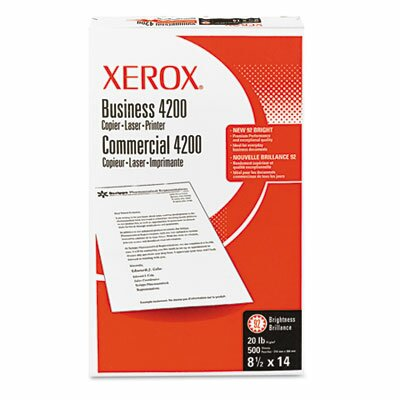 Xerox® Business 4200 Copy Paper, 92 Brightness, 20Lb, 8-1/2 X 14, 500 Sheets/Ream