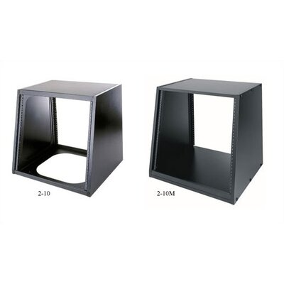 "Middle Atlantic Slim 2 Series 10 Space (17 1/2"") Black Desktop Turret"