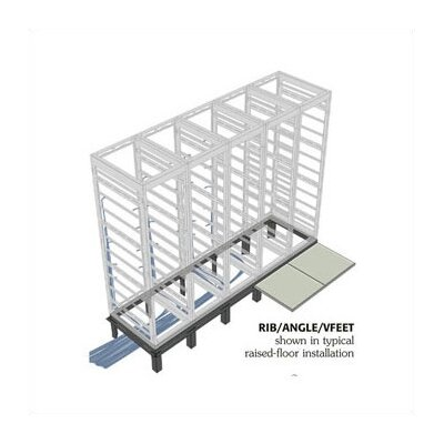 Middle Atlantic RIB Series Raised Floor Support Angles, for WRK racks