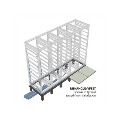 "Middle Atlantic RIB Series Raised Floor Support Angles, for DRK 31"" racks"