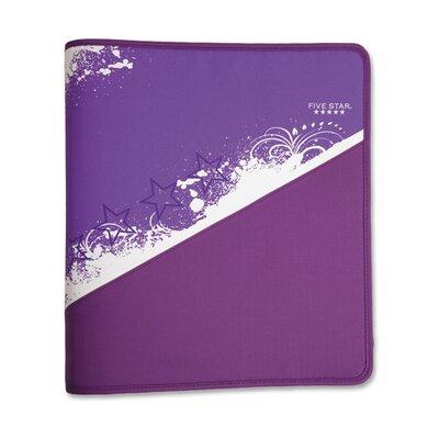 """Mead Zipper Binder, 1-1/2"""", Zipper Pocket, 12""""x13-3/4"""", Assorted Colors"""