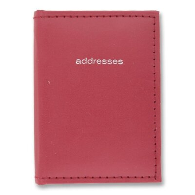 "Mead Mini Telephone Address Book, Vinyl, 3""x4"", Assorted, 2012"