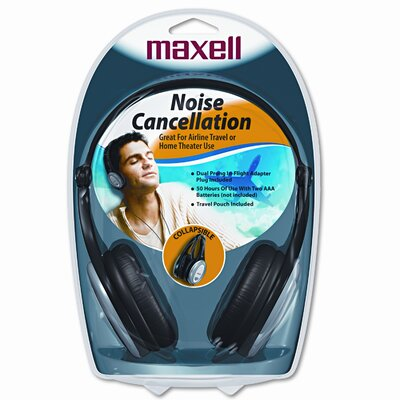 Maxell Corp. Of America Lightweight Compact Folding Headphones