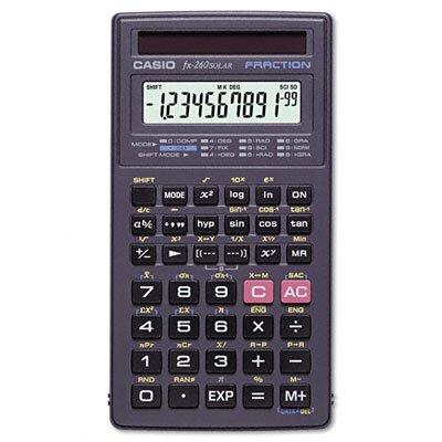 Casio® All-Purpose Scientific Calculator, 10-Digit Lcd