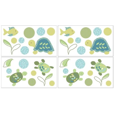 Turtle Reef Wall Decal