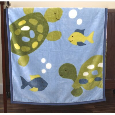 CoCaLo Baby Turtle Reef Blanket