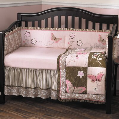Mia Rose 6 Piece Crib Bedding Set