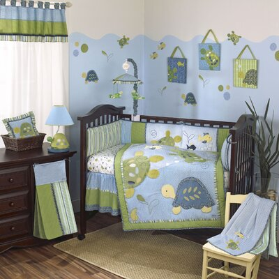 Turtle Reef Crib Bedding Collection