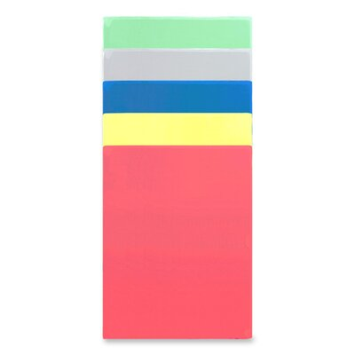 "Anglers Company Ltd. Kleer-Kolor Vinyl File Folders, Letter Size, 11""x8-1/2"", Assorted"