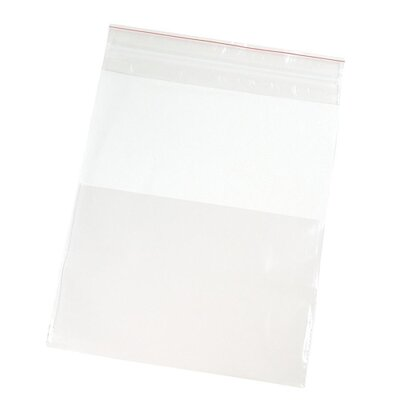"Anglers Company Ltd. Handi-Loc Poly Bags, 8""x10"", Reclosable, 100/BX, Clear"