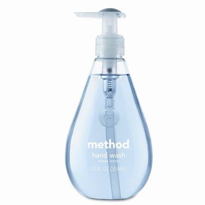Method® Hand Wash, Sweet Water Liquid, 12 Oz Bottle