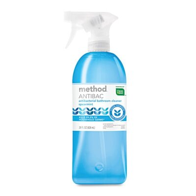Method® Antibacterial Spray, Bathroom, Spearmint, 28 Oz Bottle
