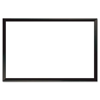 The Board Dudes Magnetic Dry Erase Board, Aluminum Frame, 36 X 24