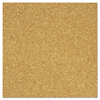 The Board Dudes Light Cork Tiles, 12 X 12, 4/Pack