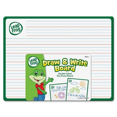 The Board Dudes Leap Frog Draw & Write Double Sided Dry Erase Board