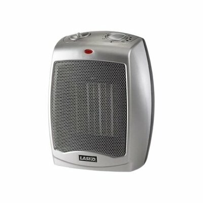 900 Watt Ceramic Compact Space Heater with Adjustable Thermostat