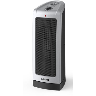 Lasko Oscillating 1,500 Watt Ceramic Tower Space Heater with Adjustable Thermostat