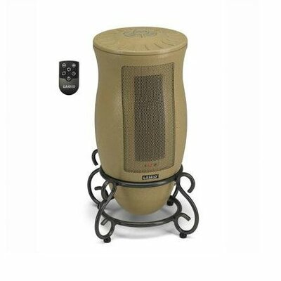 Lasko Ceramic Tower Electric Space Heater with Adjustable Thermostat