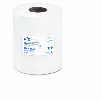 SCA TISSUE NORTH AMERICA LLC                       Center-Fold Towels, White, 8-1/4 x 11-7/8, 2-Ply, 610/Roll, 6 Rolls/Carton