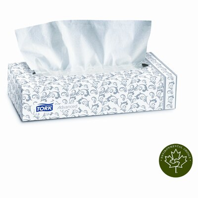 SCA TISSUE NORTH AMERICA LLC                       Tork Advanced Extra Soft, 2-Ply Facial Tissue, 100/Box, 30 Boxes/Carton