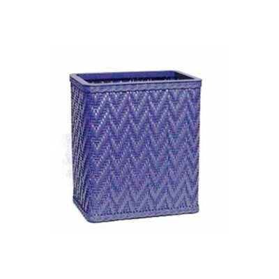 Redmon Elegante Decorator Color Wicker Wastebasket