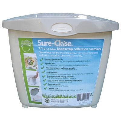 Sure Close Kitchen Waste Collection Pail