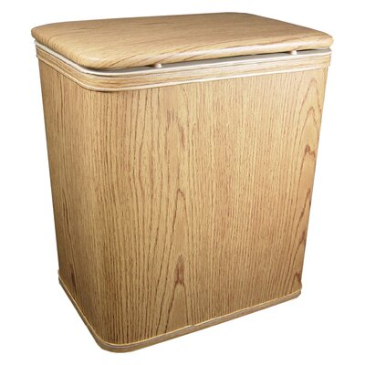 Contemporary Country Grain Vinyl Hamper
