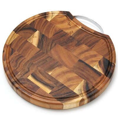 Lipper International Acacia End Grain Chopping Block