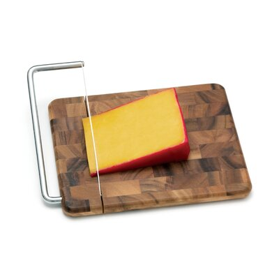 Lipper International Acacia End Grain Cheese Slicer