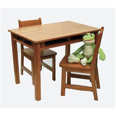 Lipper International Kids' Table and Chair Set