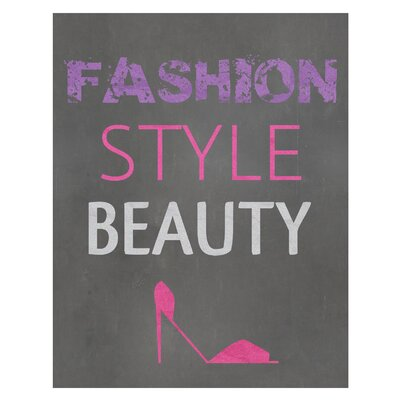 Fashion.Style.Beauty Art Print
