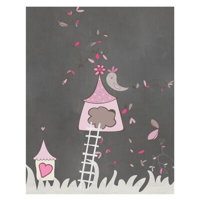 Timi and Leslie Birdhouse Art Print
