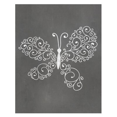 Timi and Leslie Butterfly Art Print