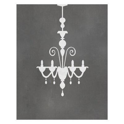 Timi and Leslie Chandelier Art Print