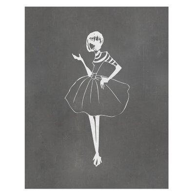Vintage Fashion Art Print