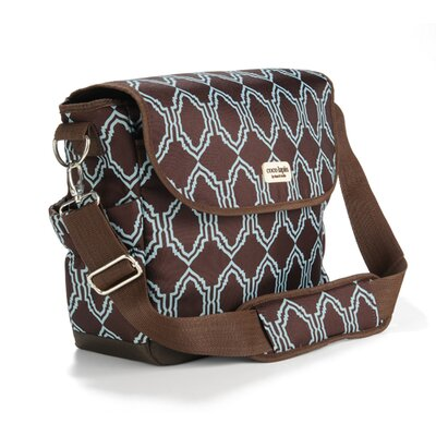 Timi and Leslie Sahara Messenger Diaper Bag